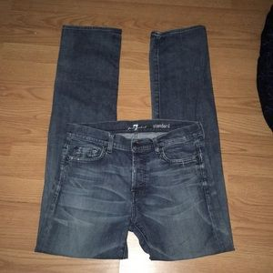 7 For All Mankind Button-fly Jeans